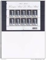 Belgie -Belgique 3468 Velletje Van 10 Postfris - Feuillet De 10 Timbres Neufs  -  Koningin Astrid - Feuilles Complètes