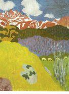 Giovanni Giacometti / Piz Duan, 1905 Bündner Kunstmuseum Chur - Pintura & Cuadros