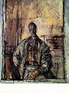 Giovanni Giacometti / Diego à La Chemise écossaise, 1954 - Pintura & Cuadros