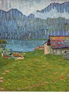 Giovanni Giacometti / Regentag Bei Capolago, 1907 Bündner Kunstmuseum Chur - Pintura & Cuadros