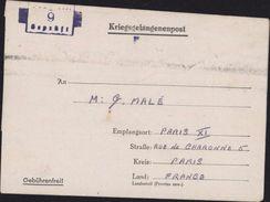 Formule ILAG Internierung Lager Giromagny Terr De Belfort Civils Pays Belligérant Internés Censure Ilag VIII 9 Geprüft - Briefe U. Dokumente