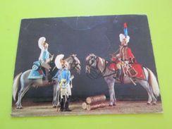 Carte Postale Publicitaire VINS DU CARROUSEL - UNIFORMES 1e EMPIRE - CARABINIERS ET CHASSEUR A CHEVAL DE LA GARDE IMPERI - Uniformes