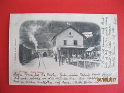 BOSNIEN - IVAN - BAHNHOF MIT ZUG, LA GARE, - TUNNEL - Um 1899 RRR - Bosnia And Herzegovina
