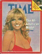 """Calendarietto Pubblicitario""""Time - March 6, 1978"""" Calendar 1979, The All-American Model Cheryl Tiegs - Calendari"""