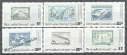 Grenada Grenadines 1978 Yvert 234-39, 75th Anniv. Of The First Zeppelin Flight - MNH - Grenada (1974-...)