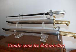 Ratelier  Plexi   Pour  Baionnette  Ou Glaive Modul Neuf - Armes Blanches
