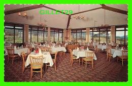 BROMONT, QUÉBEC - HOTEL BROMONT & COUNTRY CLUB - SALLE À DINER - ÉCRITE EN 1967 - UNIC - - Quebec