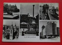 "D2-Postcard-Ljubljana,With Seal ""Watch The Road You're Not Alone ! / Pazi Na Cesti,nisi Sam!"" - Slovenië"