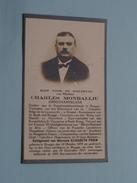 DP Charles MONBALLIU ( Elisabeth PRIEM ) Brugge 18 Okt 1879 - 28 Dec 1927 ( Zie Foto´s ) ! - Religión & Esoterismo