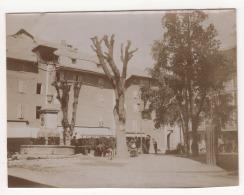 ° 04 ° BARCELONNETTE ° PLACE MANUEL ° FONTAINE  ° PHOTO ° - Barcelonnette