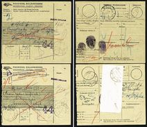 A4897) Indonesien 10 Paketkarten Um 1967 - Indonesien