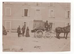 ° 04 ° LARCHE ° HOTEL DE LA PAIX - Altitude 1697 M ° Attelage Militaire? ° PHOTO ° - Autres Communes