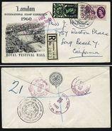 A4898) UK R-Brief Von London 11.07.60 M. Mi.339-340 - 1952-.... (Elisabeth II.)