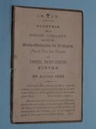 Souvenir De La PRISE D'HABIT De Soeur Marie Madeleine Du St. Esprit Maria Van Den BUSSCHE 20 Juillet 1920 VIRTON ! - Religion &  Esoterik
