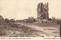 Ieper Ypres Les Halles Aux Draps En 1919 The Clothier's Halles In 1919 - Ieper