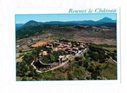 11 Rennes Le Château  Vue Générale Aérienne TBE - Andere Gemeenten