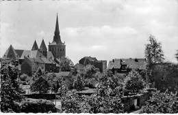 DEUTSCHLAND Allemagne - RATINGEN : Bick Auf Kathe : Kirche U. Dicken Turm - CPSM Dentelée Noir Blanc PF - Germany - Ratingen