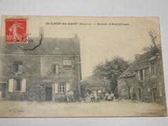 C.P.A.- Saint Loup Du Gast (53) - Route D'Ambrières - 1909 - SUP (N16) - Autres Communes