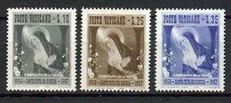 1956 - VATICAN - Scott #209-211 - MNH VF ** - Unused Stamps