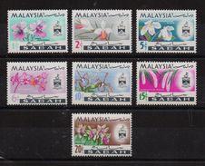 Sabah 1965, Complete Set Flowers MNH. Cv 9 Euro - Sabah