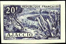 France N°981 20f Ajaccio Non émis Qualité:** Cote:  150 - Variedades: 1950-59Nuevos