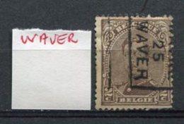 PREOBLITERES - WAVER - WAVRE 1925 - Precancels