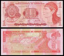 Honduras 1 LEMPIRA 1998 P 79b UNC - Honduras