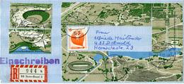 (k4644) Einschr. Brief Bund St. Bonn Beuel - Covers