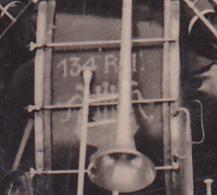 Carton Photo A Lacoste, Format CPA - Groupe De Mucisiens Du 134 Régiment D'Infanterie à Chalon S/Saône - Circulé 1932 - Régiments