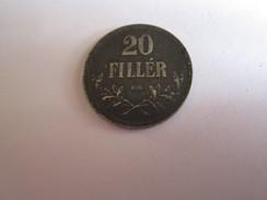 ----------------1-Pièce 20 Fillér-1916 HONGRIE--------- - Hongrie