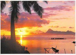 Polynésie Française Coucher De Soleil Sur MOOREA  (B) Sunset ( Photo TEVA SYLVAIN 367 /Tahiti)*PRIX FIXE - Polynésie Française