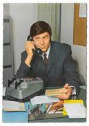 Cpsm: HOMME Au Téléphone Assis à Son Bureau (années 60) Ed. G. Picard, Paris  N° 423 - Uomini