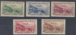 Argelia 142/146 * Charnela. 1938 - Algeria (1924-1962)
