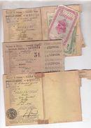 Guerre 1940-1945 - Cartes De Ravitaillement - Lot 3 - Cartes