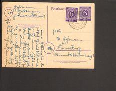 Alli.Bes.6 Pfg.Ziffer-Ganzsache P 951  Mit 6 Pfg.Ziffer Aus Göttingen Von 1946 - Zona AAS