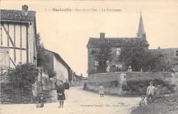 51 - HAUTEVILLE : Rue De La Côte - Le Presbytère - CPA - Marne - Other Municipalities