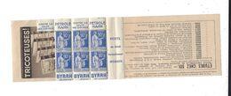 PAIX 90 C Bloc De 6 Restant D'un Carnet Publicité Pétrole Hahn Byrrh - Advertising