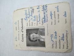 Carte  D'Identité Ancienne/RF//Préfecture De Seine  Et  Marne/Sergent Lucienne/ Années  1940-50   AEC71 - Unclassified