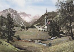 Autriche - Obernberg - Kirche Mit Tribunalaungruppe - Innsbruck