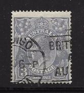 AUSTRALIE 1923/25 GEORGE V  YVERT N°39  OBLITERE - 1913-36 George V: Heads