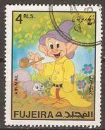 FUJEIRA    -   NAIN  /  SIMPLET   /  BLANCHE NEIGE   -  Oblitéré - Disney