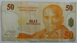 Turquie Billet 50 Nouvelles Lires 2005 50 Yeni Türk Lirasi - Turchia