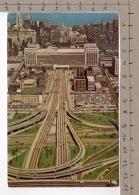 Eisenhower Expressway At Chicago Circle - Chicago
