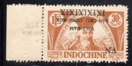 VIETNAM Du NORD - 1945/6 - N°18 ** - SURCHAGE RENVERSEE - - Vietnam