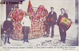 THE MINEHEAD HOBBY HORSE SAILOR'S HORSE OLD MAY DAY SOMERSET - England