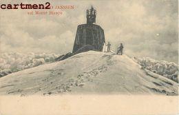 4 CPA : CHAMONIX MONT-BLANC OSSERVATORIO JANSSEN MONTE BIANCO ALPINISME VAL D'AOSTA MER DE GLACE COURMAYEUR 1900 ITALIA - Chamonix-Mont-Blanc