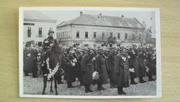 GERMANIA GERMANY Deutschland OCCUPATION CESKOSLOVENSKO  POST CARD FROM LEVA VISSZATERT MAGYAR UNGHERIA - Germania