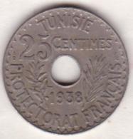 PROTECTORAT FRANCAIS. 25 CENTIMES 1938 - Tunisia