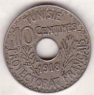PROTECTORAT FRANCAIS. 10 CENTIMES 1918 - Tunisie