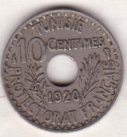 PROTECTORAT FRANCAIS. 10 CENTIMES 1920 - Tunisie